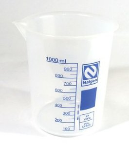 Copo Becker Polipropileno Autoclavável  1000Ml - Nalgon