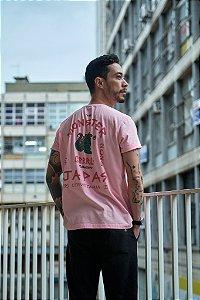 Camiseta Gojaira Rosa