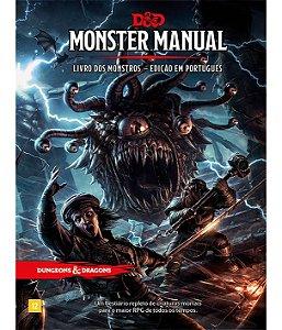 Dungeons & Dragons - Livro Dos Monstros Edição Em Português