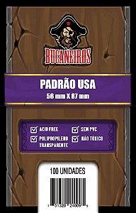 Sleeve Padrão USA (56x87) - Bucaneiros