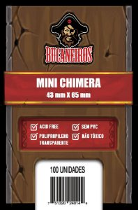 Sleeve Mini Chimera (43 X 65) - Bucaneiros