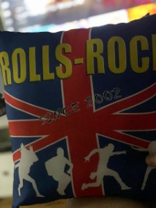Almofada Personalizada Rolls-Rock
