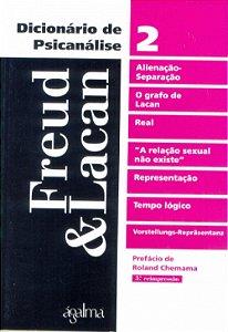 Dicionário de Psicanálise - Freud & Lacan - 2