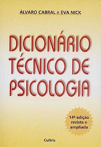 Dicionario Tecnico de Psicologia