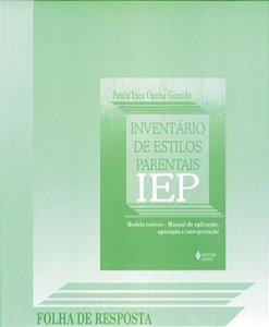 Iep - Folha de Resposta