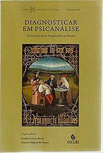 Diagnosticar Em Psicanálise - vol 4