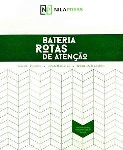 BATERIA ROTAS DE ATENÇÃO - BL. DE RESPOSTAS ATENÇÃO CONCENTRADA - ROTA C - 25 FOLHAS