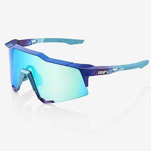 Óculos Ciclismo 100% Speedcraft Original Lente Azul Espelhado