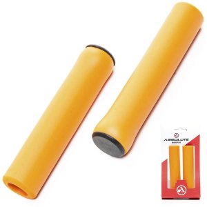 Manopla Absolute Silicone NBR1 Bike Mtb Laranja