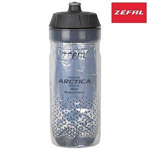 Garrafa Térmica Zefal Arctica 550ml Bottle Propilen Prata/Preto