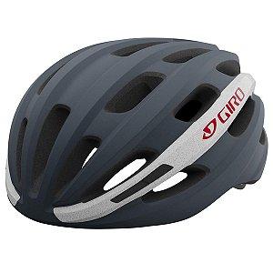 Capacete Ciclismo Giro Isode Cinza/Branco Tam U 54-61cm