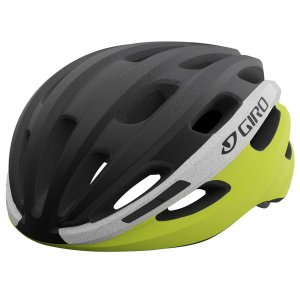Capacete Ciclismo Giro Isode Preto/Branco/Amarelo Tam U 54-61cm