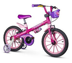 Bicicleta Aro 16 Infantil Top Girls Rosa Feminina