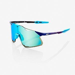Óculos Ciclismo 100% Hypercraft - Original Azul Espelhado