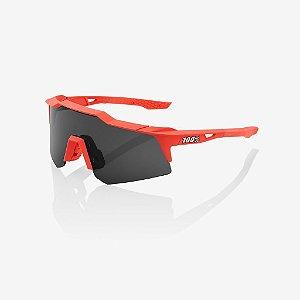 Óculos Ciclismo 100% Speedcraft C/Nf Original Vermelho Coral