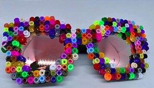 Óculos Fashionista Colorido
