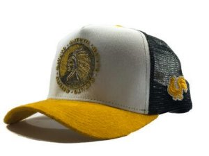 Matuto Yellow Indian Trucker
