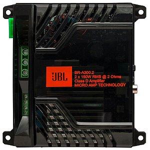 Modulo JBL BR-A 300.2 Amplificador 300w Rms - 2 Canais