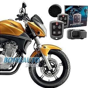 Alarme Moto Positron Duoblock Fx G7 Dedicado Honda Cb300