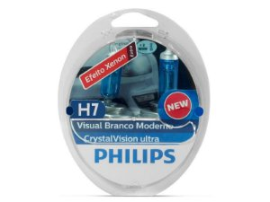 Lampada Philips H7 Crystal Vision Ultra 4300K 55W
