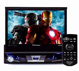 "DVD Automotivo Pioneer AVH-X7780TV Tela 7"" TV Digital USB Entrada Auxiliar Bluetooth"
