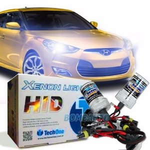 Kit Xenon H1 Techone 6000k 8000k Automotivo 35w