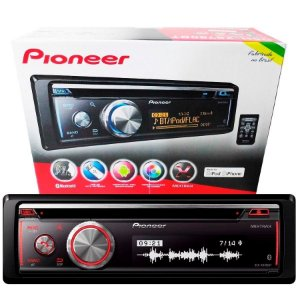 Cd Player Pioneer Golfinho Deh-x8780bt Bluetooth Mixtrax Usb