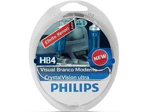 Lampada Philips HB4 Crystal Vision Ultra 4300K 55W