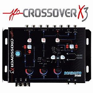 Crossover Jfa X3 Digital Eletrônico Jfa Divisor 3 Vias