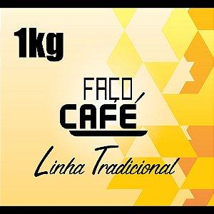 Faço Café - Linha Tradicional - Café Moído 1kg