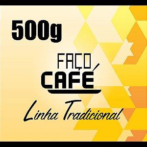 Faço Café - Linha Tradicional - Café Moído 500g
