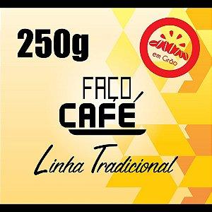 Faço Café - Linha Tradicional - Café grão 250g