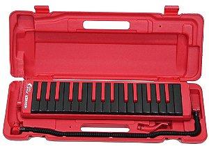 Escaleta Hohner 32 Teclas Fire Red com Estojo