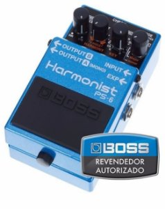 Pedal de Efeito Boss Harmonist Pitch Shifter PS6 para Guitarra