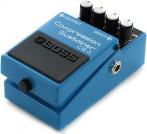 Pedal de Efeito Boss Compression Sustainer CS3 para Guitarra