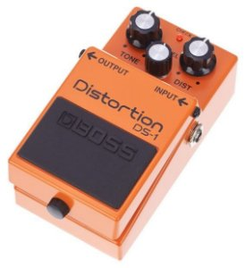 Pedal de Efeito Boss Distortion DS1 para Guitarra