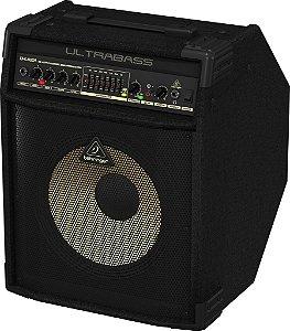 """Caixa Amplificada Behringer Ultrabass BXL900A 90W 1x12"""" para Contrabaixo"""