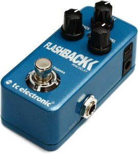 Pedal de Efeitos TC Electronic Flashback Mini Delay para Guitarra