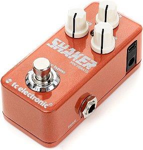 Pedal de Efeitos TC Electronic Shaker Mini Vibrato para Guitarra