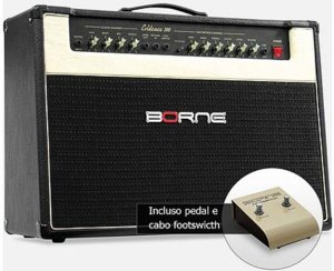 "Amplificador Borne Evidence 200 2x12"" 150W com Footswitch"