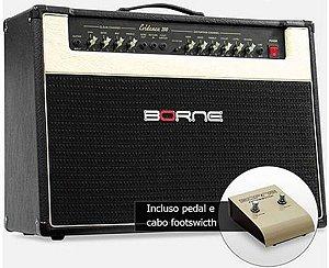 "Amplificador Borne Evidence 200 2x12"" 150W com Footswitch"