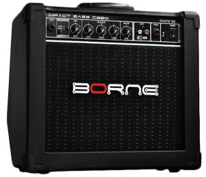 "Amplificador Borne Impact Bass CB60 1x6,5"" 20W"