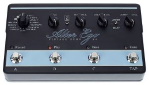 Pedal Multi Efeitos TC Electronic Alter Ego X4 Vintage Echo Delay para Guitarra