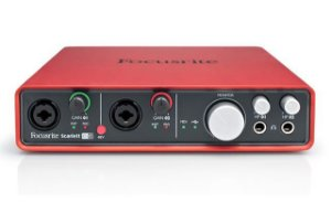 Interface de Áudio Focusrite Scarlett 6i6 USB