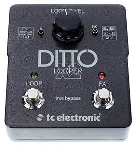 Pedal de Efeitos TC Electronic Ditto X2 Looper para Guitarra