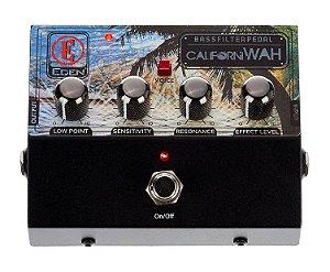 Pedal Eden CaliforniWAH Bass Filter Auto Wah