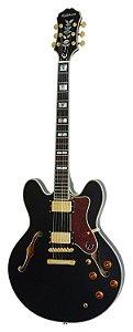 Guitarra Epiphone Semi-Acústica Sheraton II com Capa