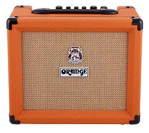 Caixa Amplificada Orange Crush PiX CR20RT 20W 1x8 para Guitarra