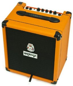 Caixa Amplificada Orange Crush PiX Bass CR25BX 25W 1x8 para Contrabaixo
