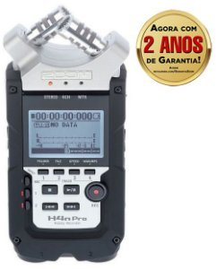 Gravador Digital Potátil Zoom H4n Pro Handy Recorder